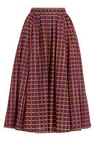 Loin Cloth & Ashes - High-waisted mid-calf skirt Multi-colour