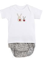 Pickalilly - Bunnies diaper set