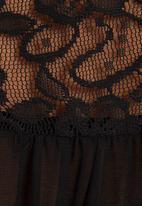 edit - Shirt with back detail Black