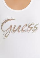 GUESS - Modern west Guess tank White
