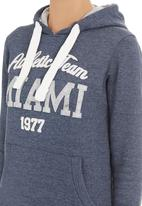 Miss Smith&Jones - Sophia hooded track top Blue