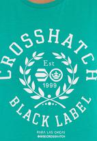 Crosshatch - Penelope T-shirt  Green