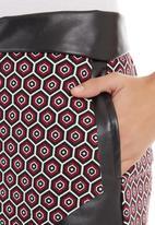 Fortune - Origami skirt Multi-colour