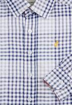 POLO - Check shirt Blue (dark blue)