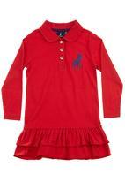 POLO - Golfer dress Red