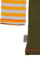 Eco Punk - Fleece sweatshirt Green