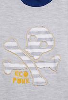 Eco Punk - Fleece sweatshirt Blue