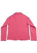 Eco Punk - Fleece blazer Coral