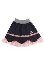 Eco Punk - Denim ballerina skirt Pink