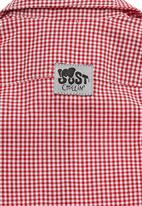 Just chillin - Checked shirt Red