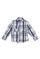 Seven Ounce - Check shirt Blue