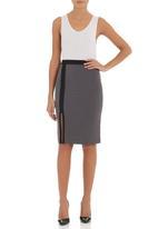 e4ed7a3cd8 Pencil skirt with slit dark Grey adam&eve; Skirts | Superbalist.com
