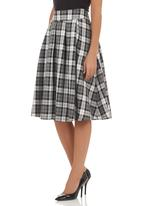Pringle of Scotland - Astroid poodle skirt Grey (dark grey)