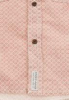 Sticky Fudge - Shirt with front pockets Mid Pink