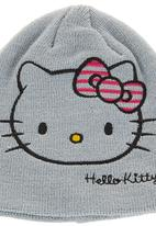 Sanrio-Hello Kitty - Hello Kitty beanie Grey
