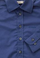 Pringle of Scotland - Kovv long-sleeve shirt Navy