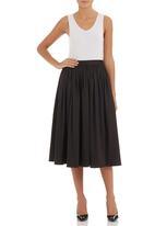 edit - Full skirt Black
