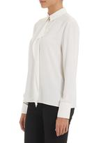 G Couture - Frill blouse Milk
