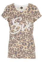 All About Eve - Eve tee Animal Print