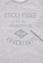 Sticky Fudge - Long-sleeve top  Grey