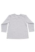 Sticky Fudge - Long-sleeved top with print Grey