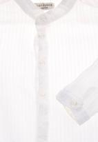 Sticky Fudge - Shirt with mandarin collar White