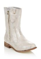 Plum - Ankle boots Silver