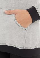 edge - Hooded lounge top Grey