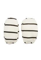 Phoebe & Floyd - Printed booties Black/White