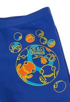 SPEEDO - Sea Squad Aqua Shorts Mid Blue