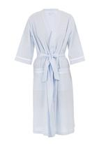 White Mischief - Candice gown with sash Blue