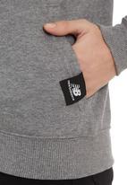 New Balance  - Essentials Full Zip Hoodie Grey