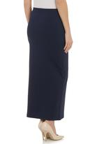Paige Smith - Tube skirt Navy