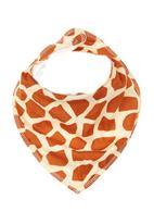 Noo Wear - Giraffe Bib Orange