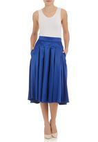 FRIENDS - Full skirt Cobalt