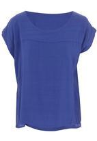 Margot Molyneux - Structured box shirt Cobalt