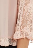edit - Cape blouse Pink(pale pink)