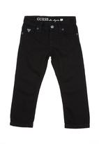 GUESS - 5-Pocket skinny jeans Black