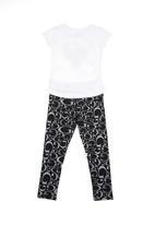 GUESS - Spring twin set  Black/White