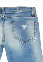 GUESS - Starlet 5-pocket skinny jeans Pale blue