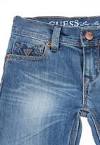 GUESS - Lincoln 5-pocket jeans Blue black denim