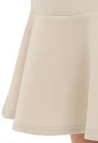 SELFI - Flare pencil skirt Milk