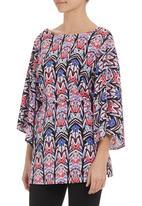 edit - Kimono tunic Multi-colour