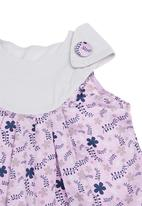 Kate Jordan - Dress With Floral Trim Purple