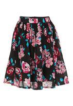 Leandra Designs - Crop skirt Black