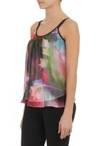 STYLE REPUBLIC - Floral Basic Cami Mid Pink