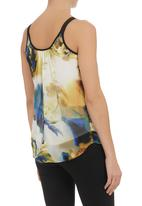 STYLE REPUBLIC - Floral Basic Cami Yellow
