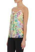 STYLE REPUBLIC - Floral basic cami Multi-colour