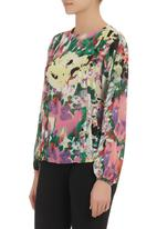Amanda May - Floral blouse Multi-colour