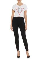 GUESS - Timeless triangle top  White